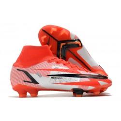 Nike Superfly 8 Spark Positivity CR7 Elite FG Rouge Piment Noir