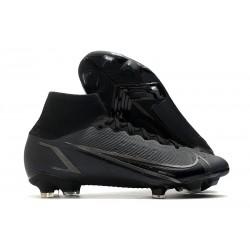 Nike Chaussure Mercurial Superfly 8 Elite FG Noir