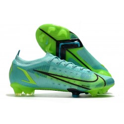 Chaussures Nike Mercurial Vapor 14 Elite FG Impulse - Turquoise Vert