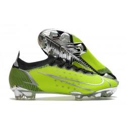Chaussures Nike Mercurial Vapor 14 Elite FG Vert Argent