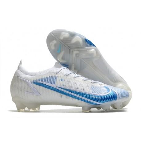 Nike Mercurial Vapor XIV Elite FG Blanc Bleu