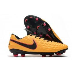 Nike Tiempo Legend VIII Elite FG Kangourou Orange Noir