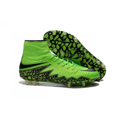 Chaussures football Nike Hypervenom Phantom II FG - Vert Noir